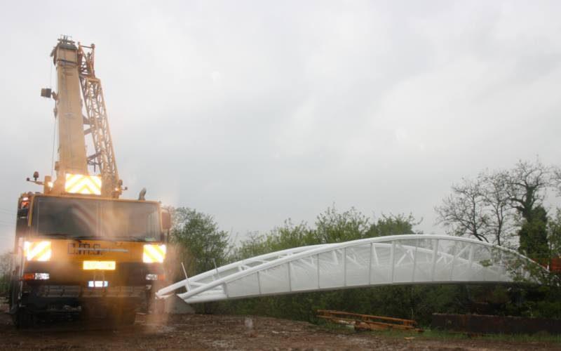 Project Footbridge A8 Expo of Milan