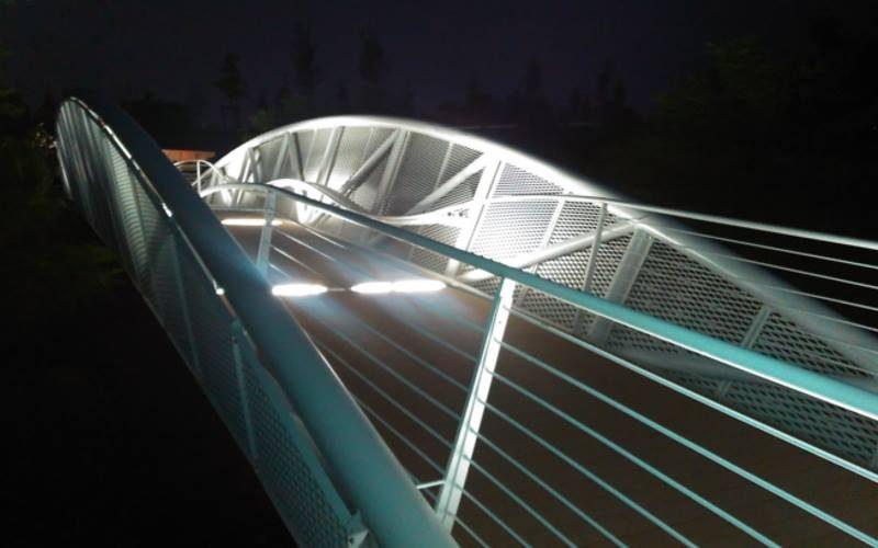 Cyclist and Pedestrian bridges – Expo 2015